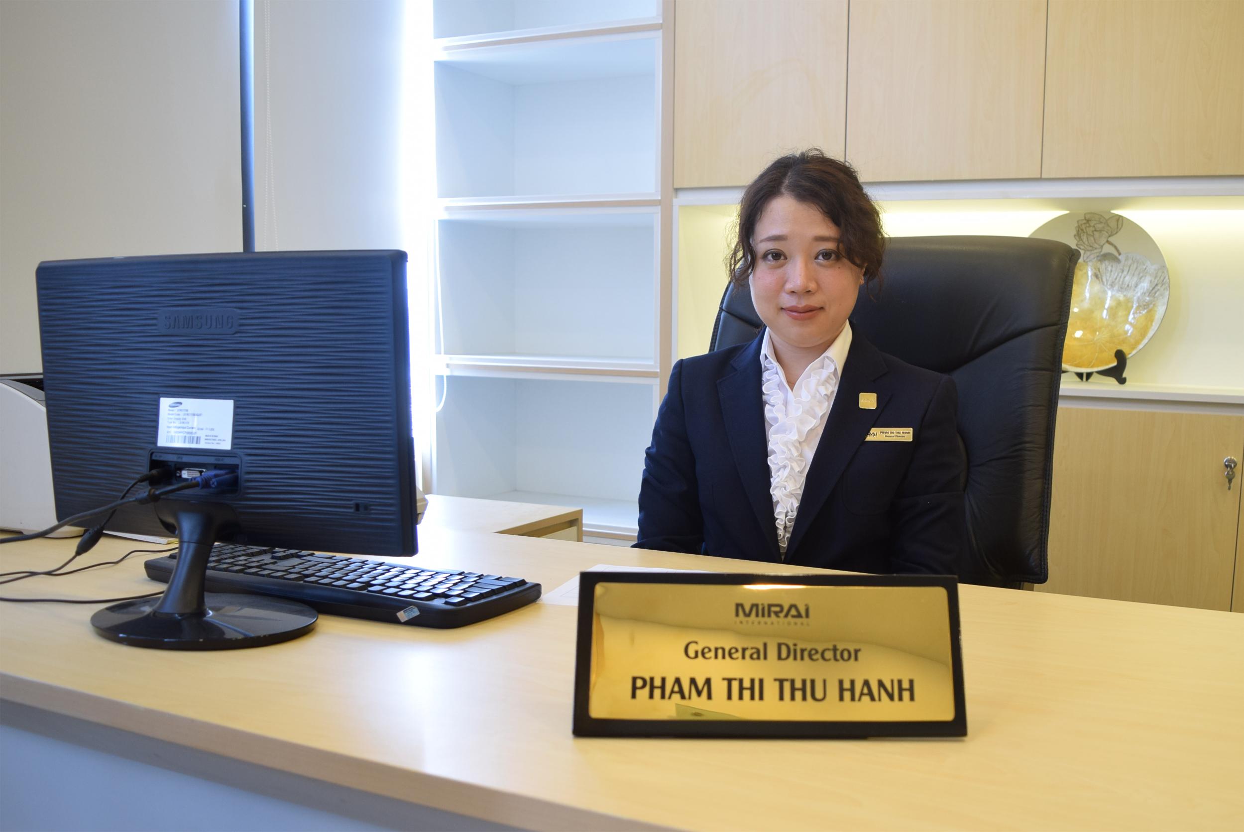 代表取締役社長ファム ティ トゥ ハイン
